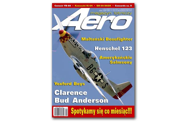 Aero 02 .jpg - P-51 Mustang cover image for polish aviation magazine Aero