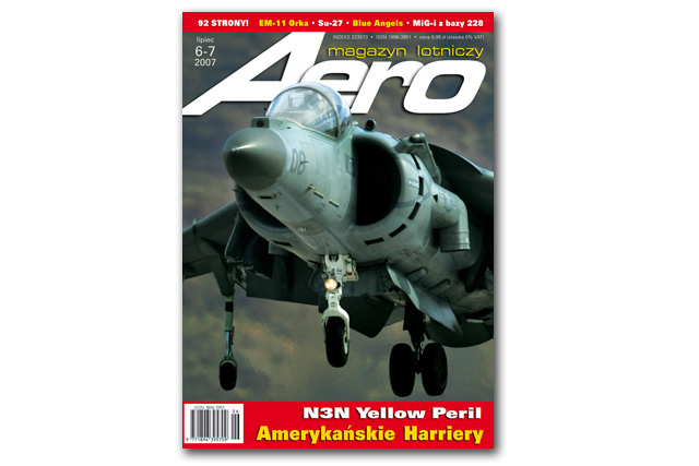 Aero 06-2007.jpg - Harrier cover image for polish aviation magazine Aero