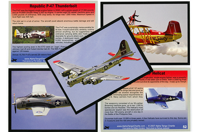Aviation Trading Cards 02.jpg - Pictures used for aviation trading cards