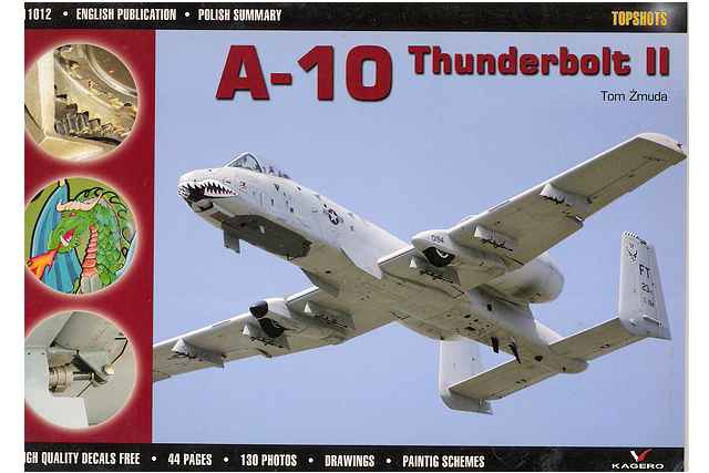 TopShots 12 A-10 Thunderbolt.jpg - A-10 Thunderbolt cover image for Topshot book