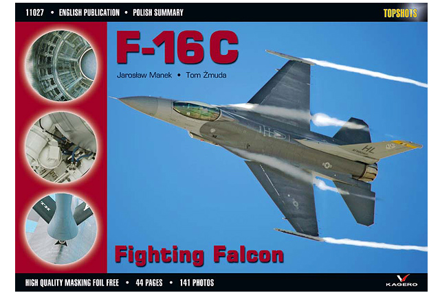TopShots 27 F-16C.jpg - F-16 Fighting Falcon cover image for Topshot book